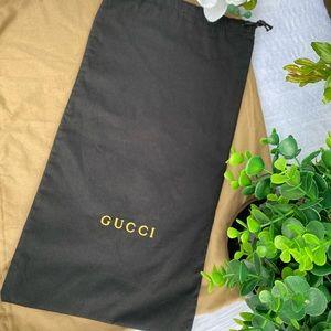 Gucci shoe dust bag Authentic
